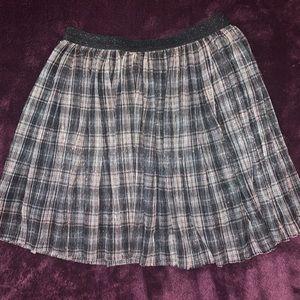 Zara Girls Boxes Pleated Skirt